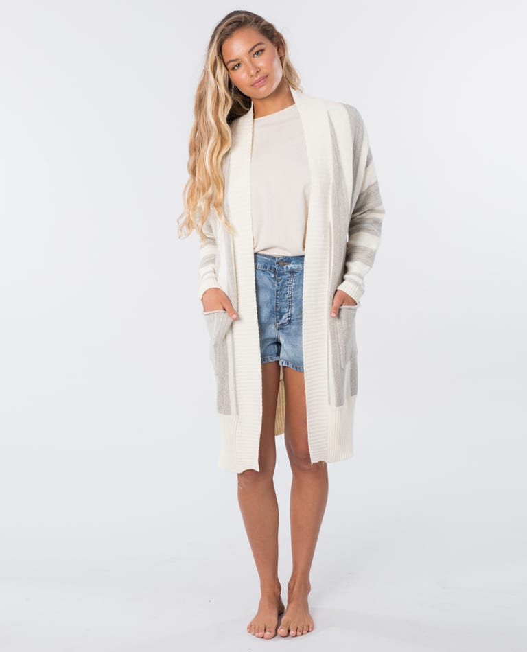 The Nomadic Cardigan in Off White