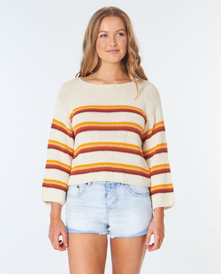 Golden Days Sweater in Cream