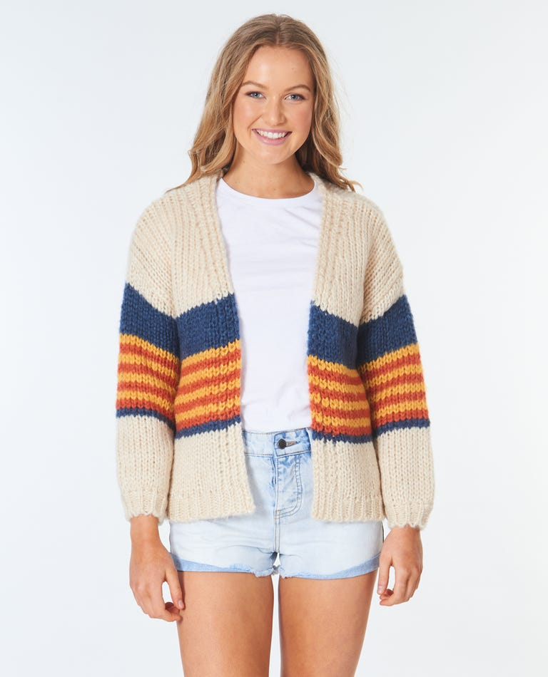 Golden Days Cardi in Cream