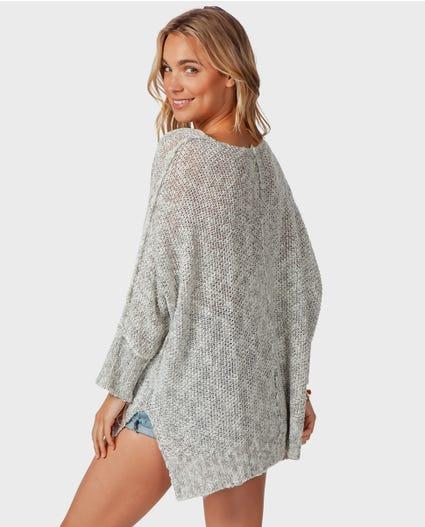 Morningside Pullover in Light Grey