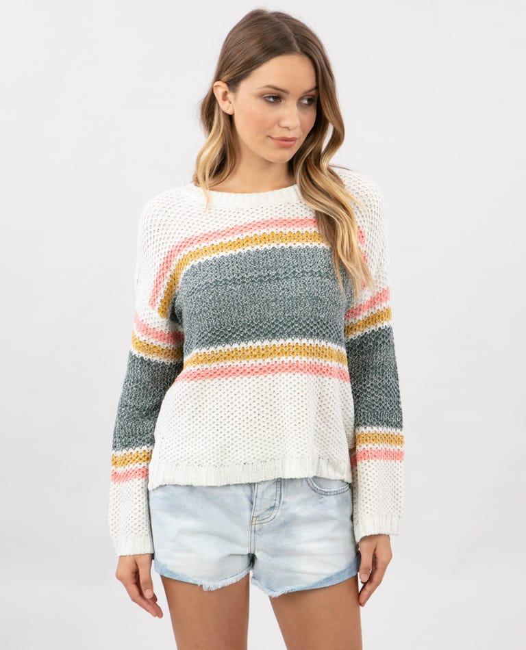 Cruizin Crew Sweater in Multi