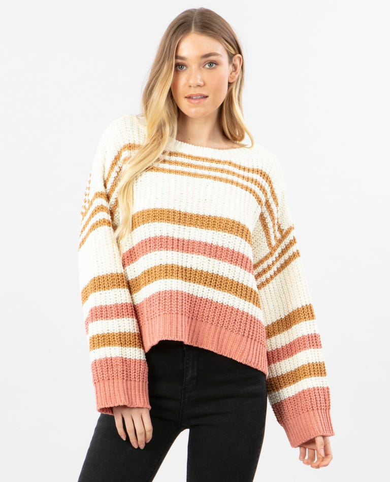 Road Side Sweater in Bone
