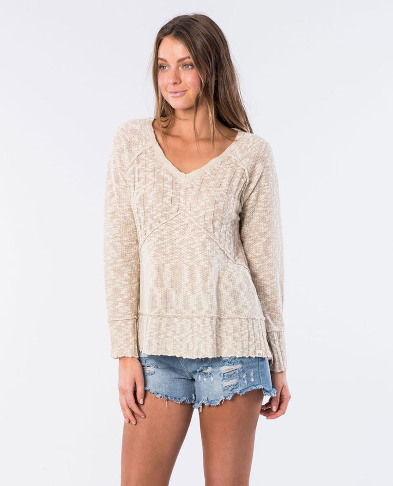 Reflection II Pullover Jumper in Natural