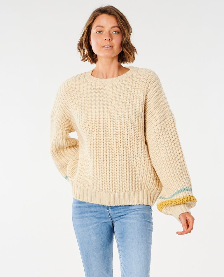 Tiki Sweater in Off White