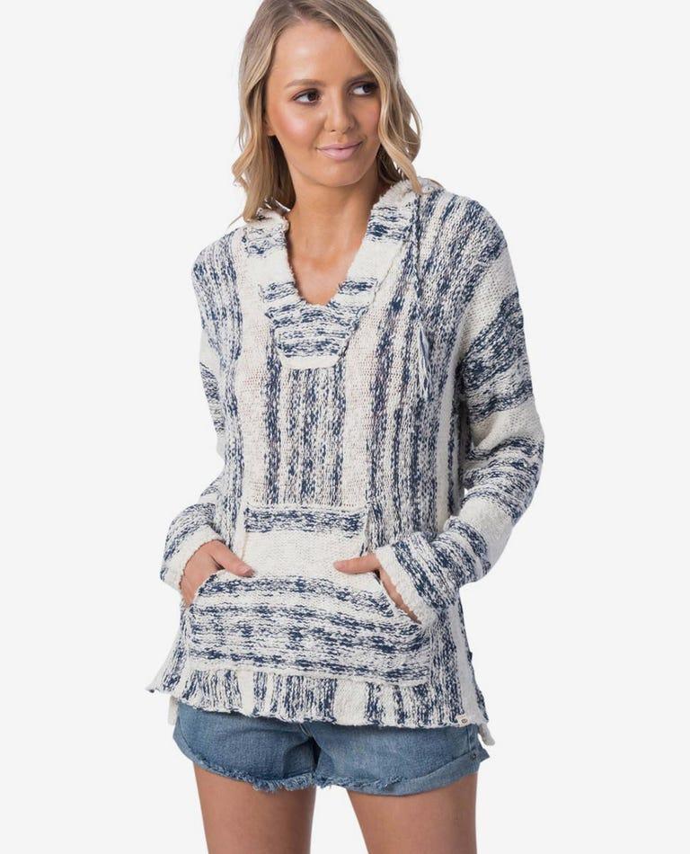 Seaside Stripe Sweater in Vanilla