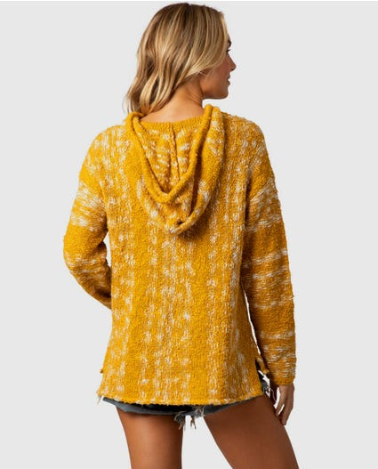 Seaside Stripe Sweater in Gold