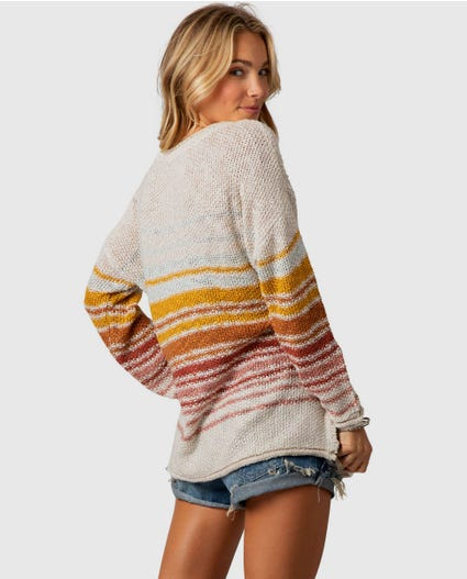 Island Sands Sweater in Vanilla