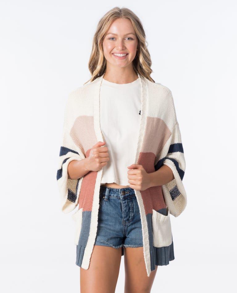 Boardwalk Sweater in Bone