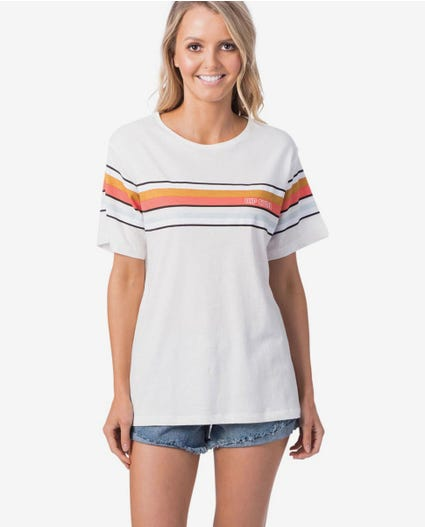 Helicopter Tee in Off White
