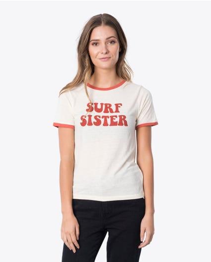 Surf Sister Tee in Rust