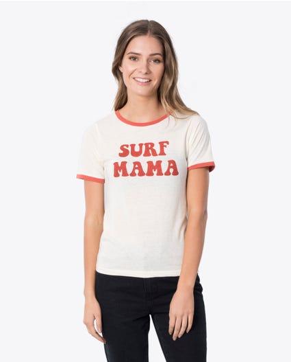 Surf Mama Ii Tee in Rust