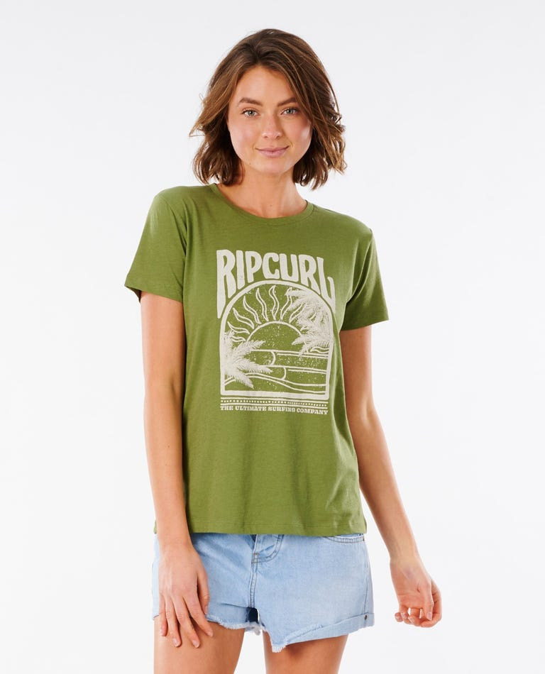 North Shore Standard Tee in Olive
