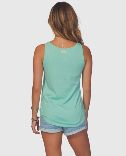 Gfk Aloha Lover Tank in Teal