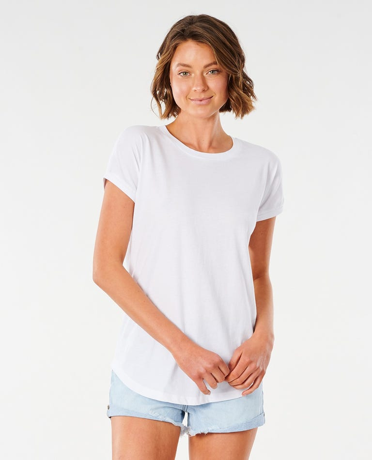 Plains Tee in White