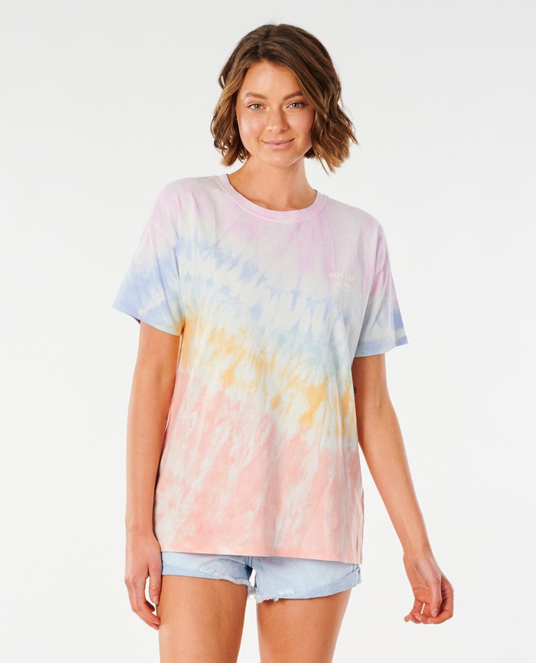 Wipe Out Oversize Tee in Multico
