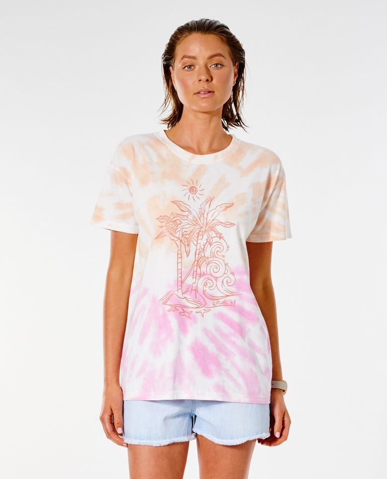 Tropical Paradise Oversized Tee in Multico