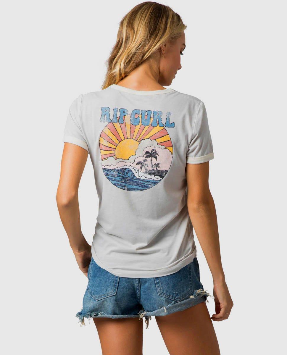 Rip Curl Womens Floater Boy Tee Shirt