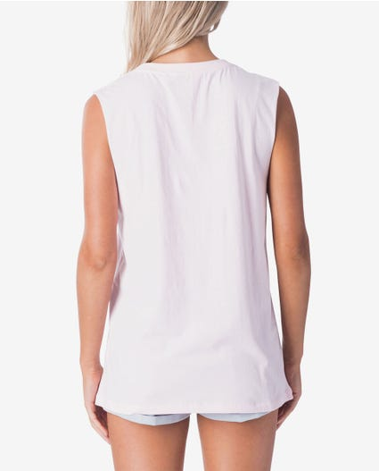 Lovin Surf Muscle Top in Light Pink
