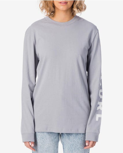 Offshore Long Sleeve Tee in Grey