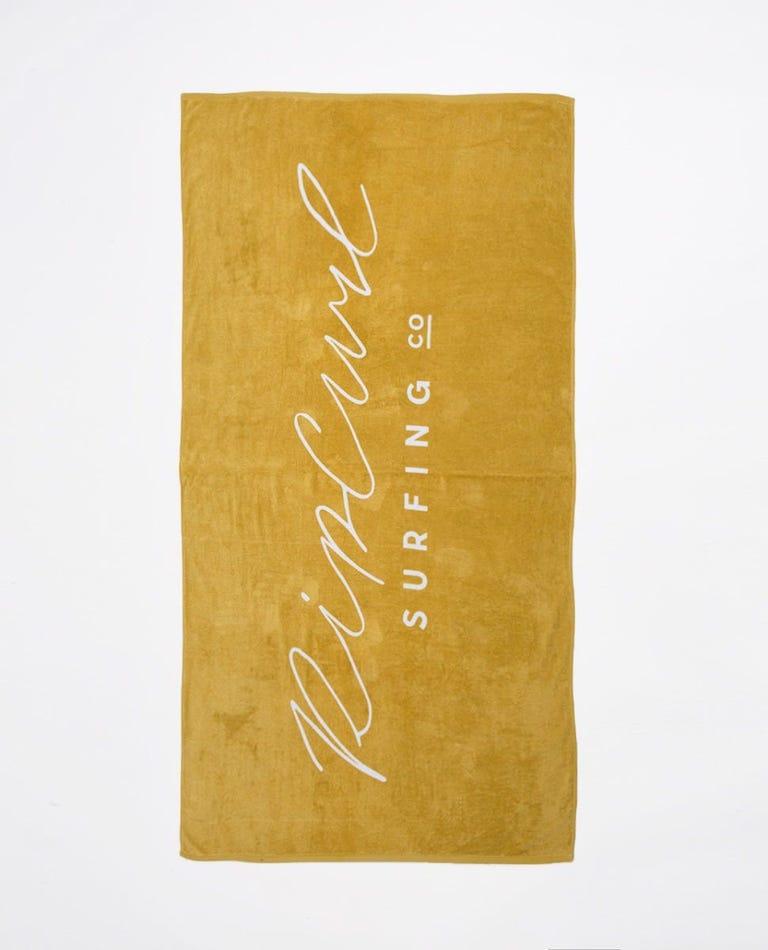 Standard Towel Origin in Gold