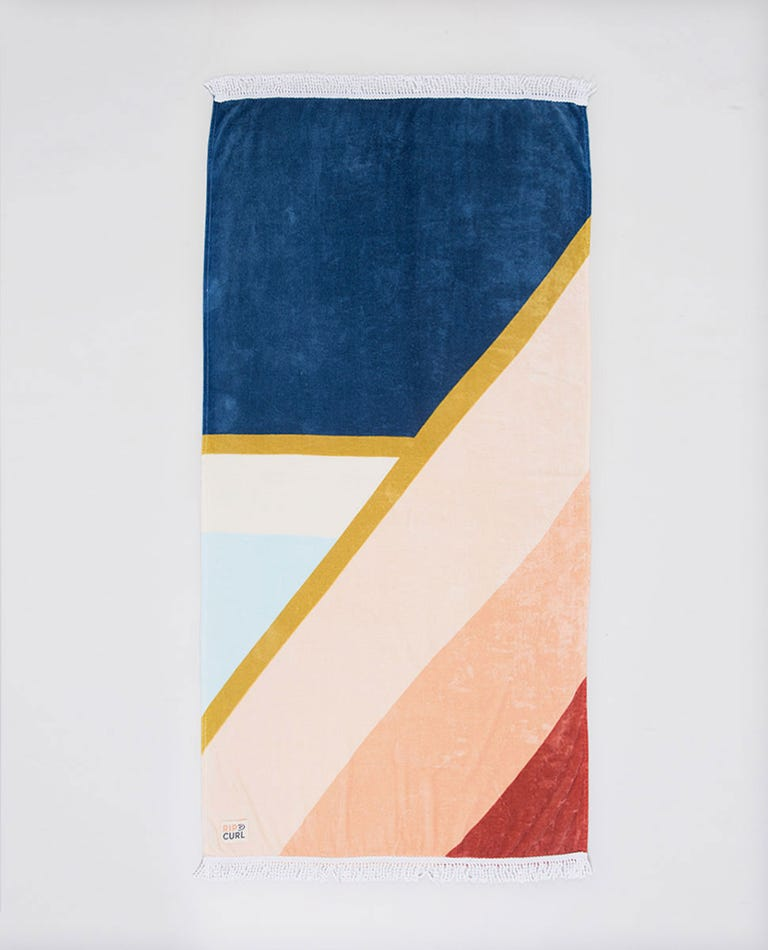 Standard Towel Sunsetters in Dark Blue