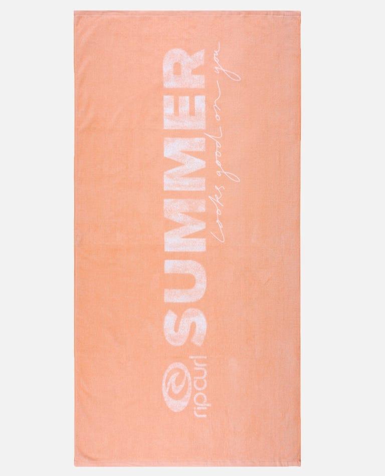 SLGOY Towel in Peach