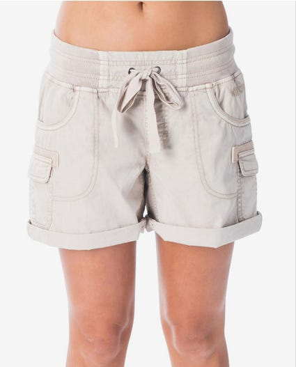 Almost Famous II Short in Beige