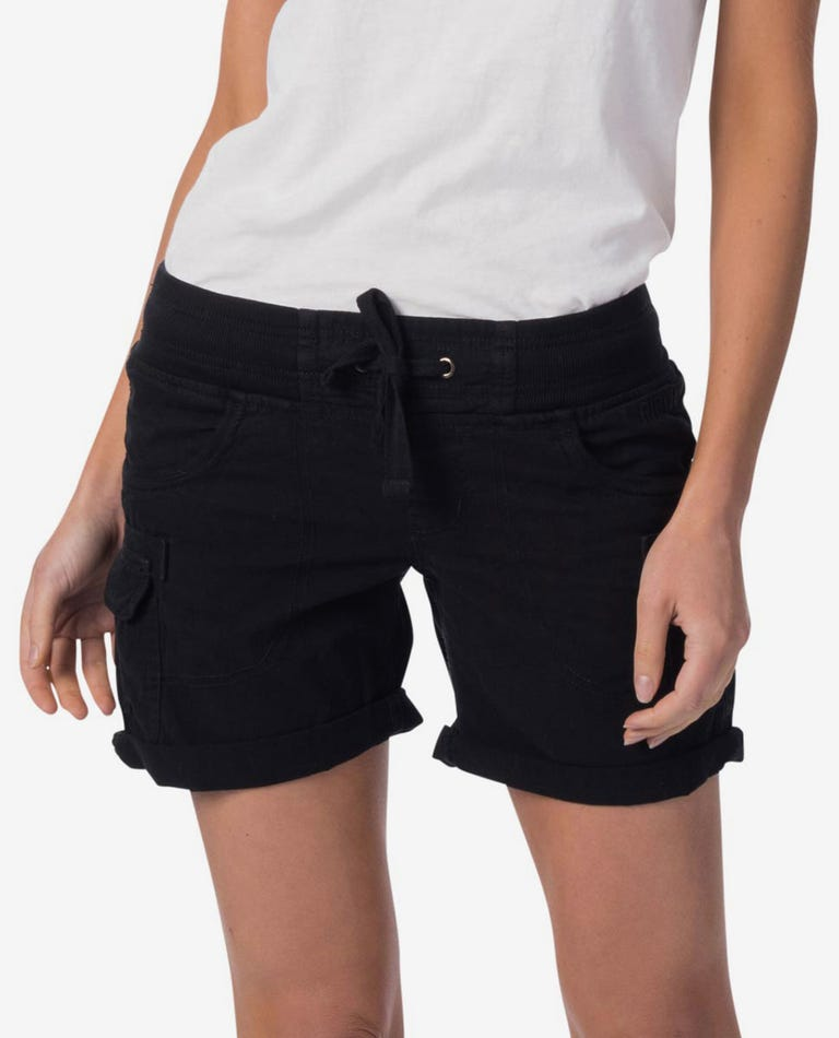 Almost Famous II Short in Black