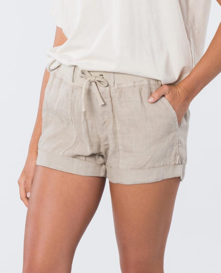 The Off Duty Short in Stone Blue