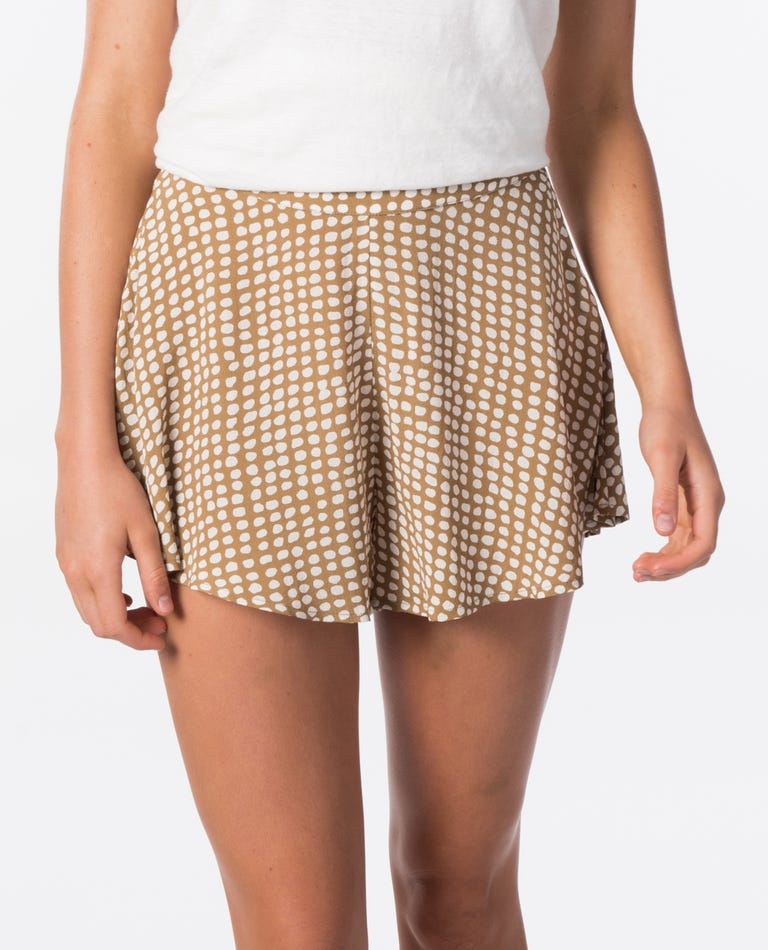 Paradise Cove Short in Gold
