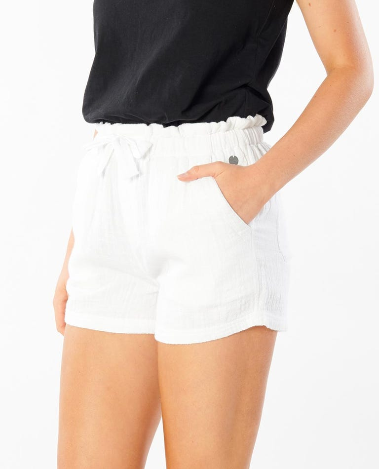 Sunshine Short in White