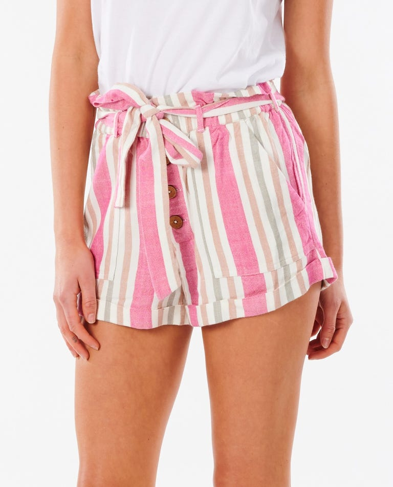 Ashore Stripe Short in Multico