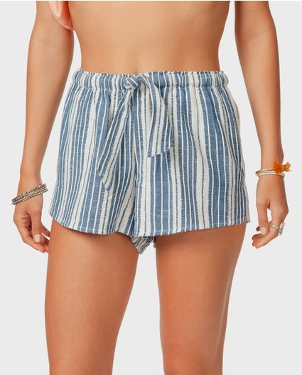 Tiki Talk Short in Blue