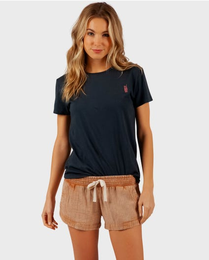 Classic Surf Short in Black