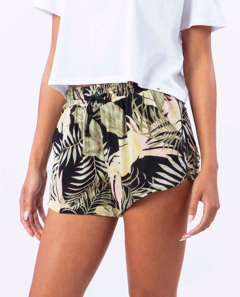 Coastal Palm Short in Black