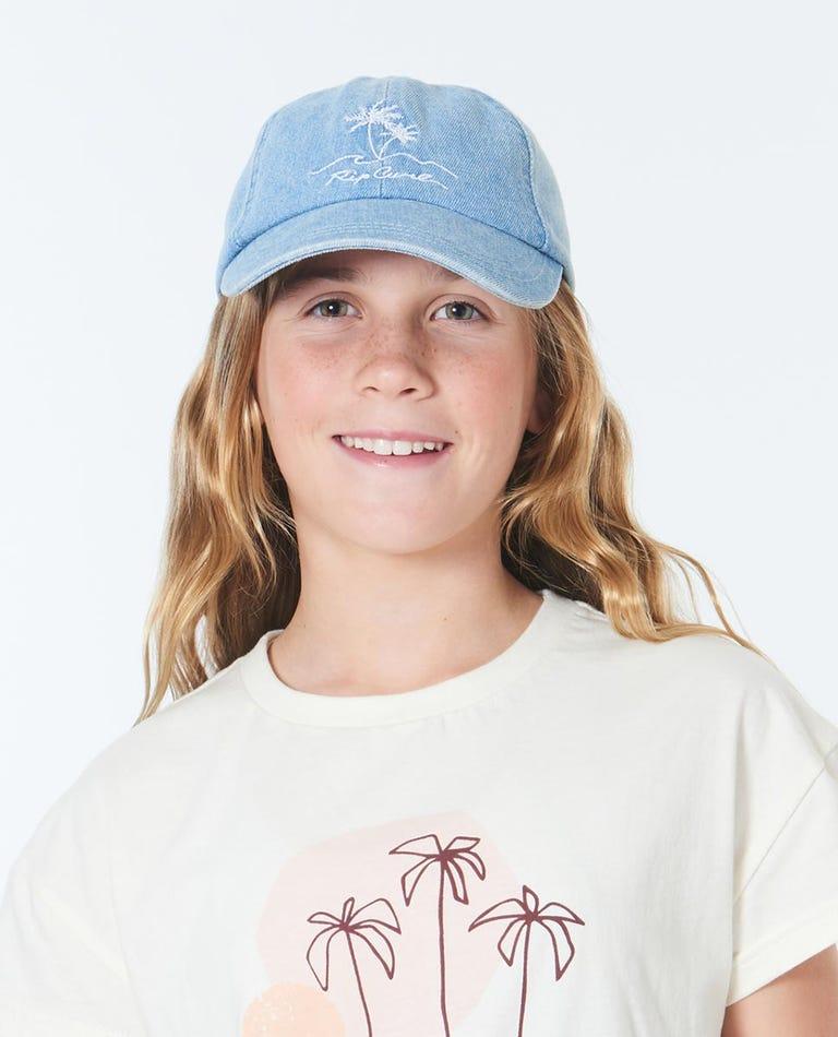 Surf Trip Cap Girls (8 - 16 years) in Blue