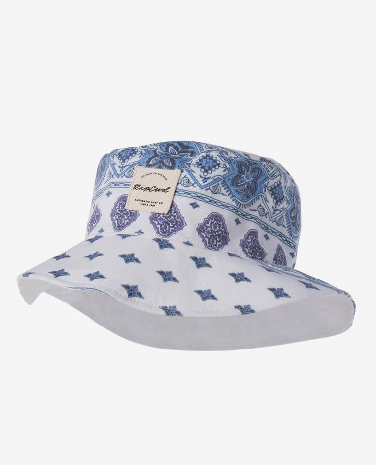 Girl Port Villa Hat in White