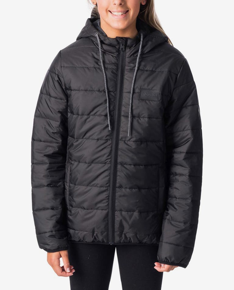 Teen The Search Puffer in Black