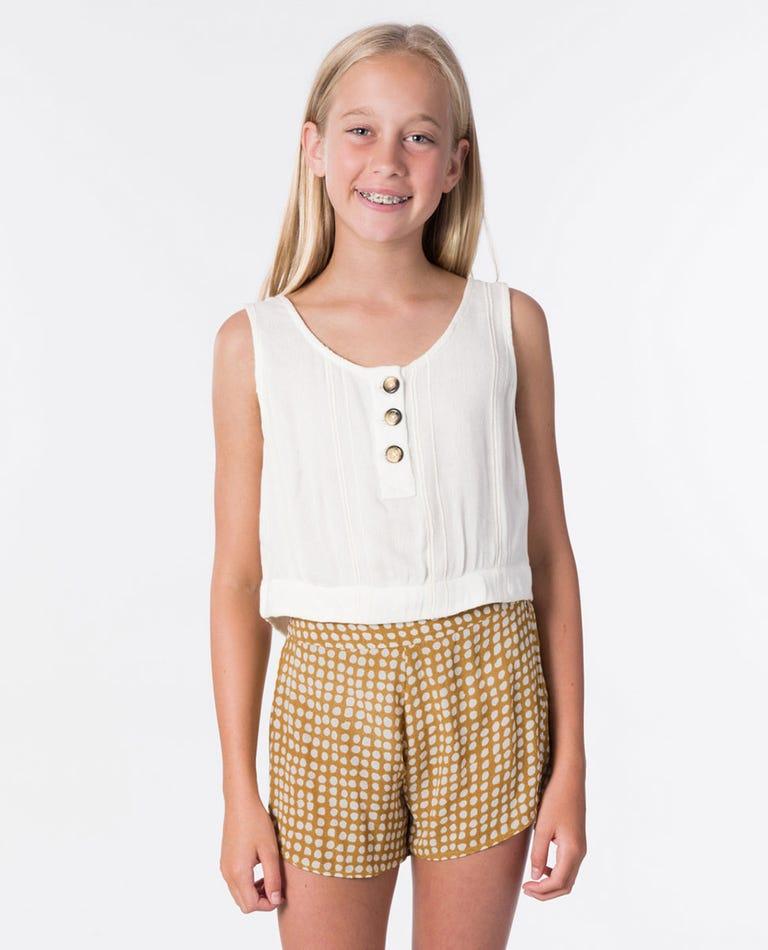 Girl Sunrise Shirt in Off White