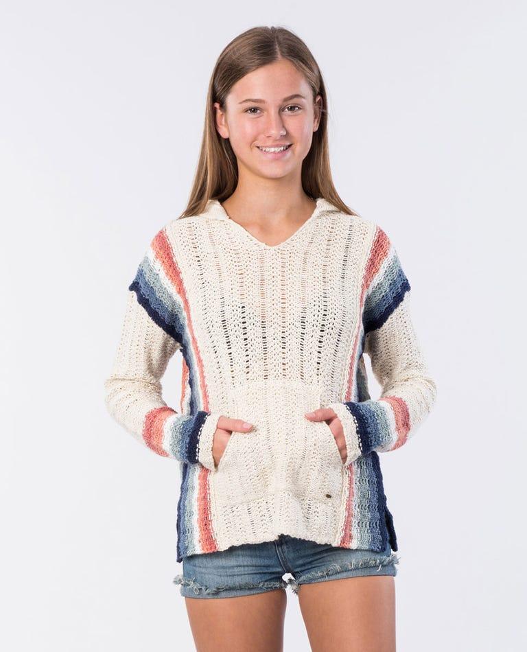 Girl Keep On Dreamin Knit Jumper in Beige