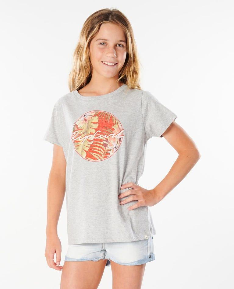Leilani Tee Girls (8 - 16 years) in Heather Grey