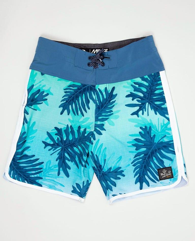 Boy's Mirage Seven Mile Boardshorts in Blue