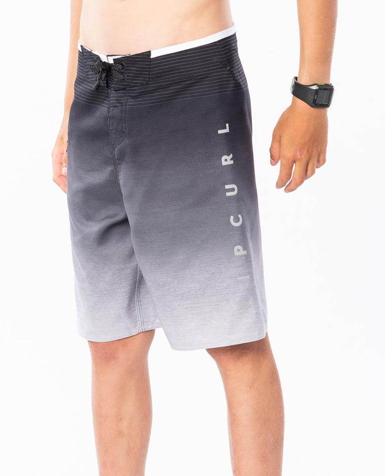 Boys Shock 18 Boardshorts in Black