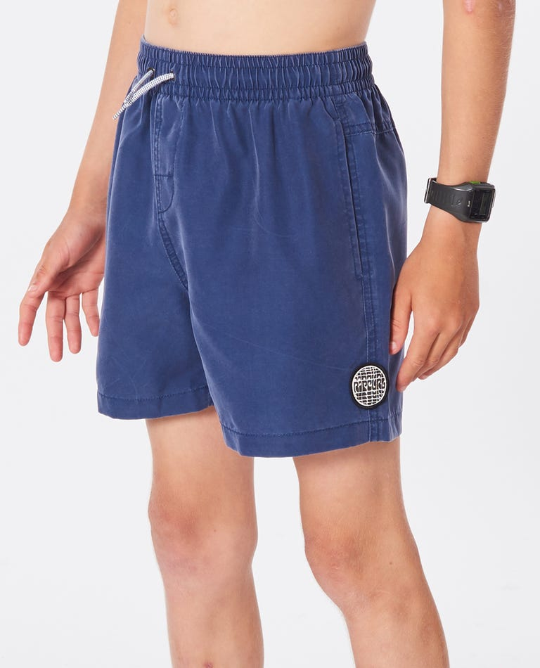 Boys Bondi Volley Boardshorts in Navy