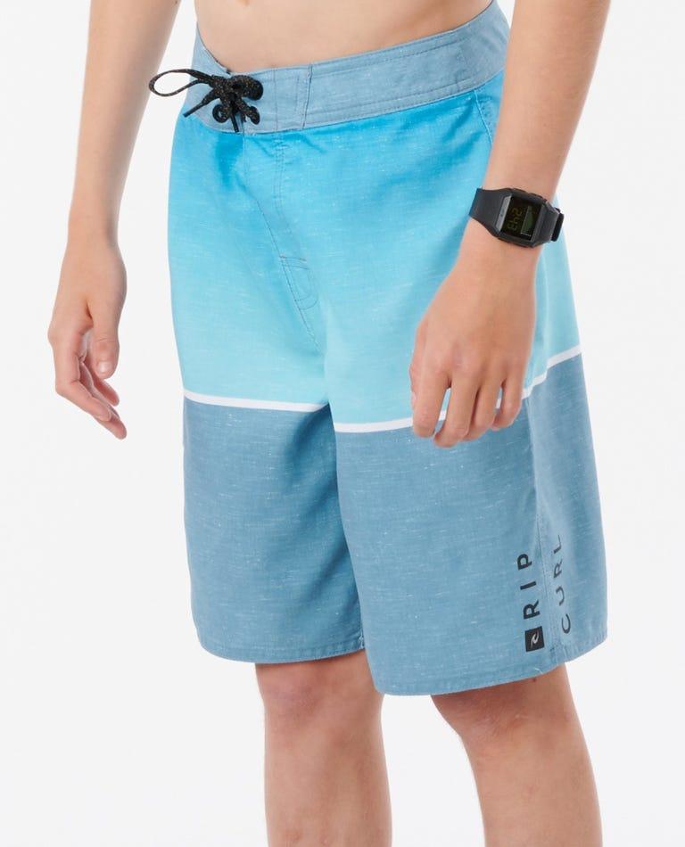 Boys Dawn Patrol Boardshorts in Light Blue