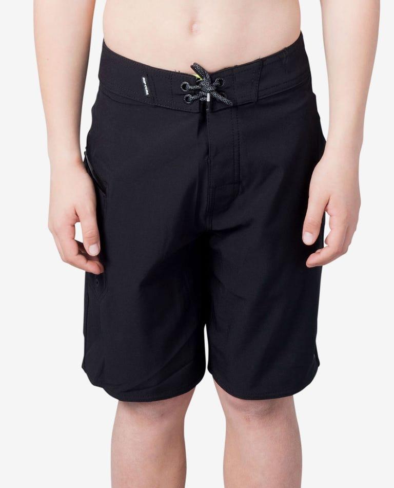 Boys Mirage 17 Core Boardshorts in Black
