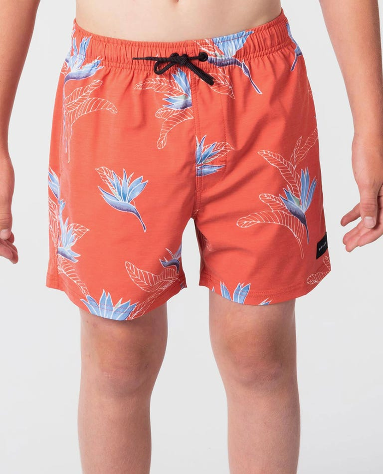 Utopia 15 Volley Boardshort - Boy in Red