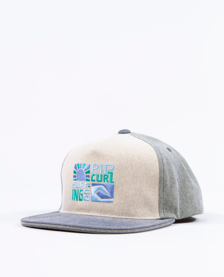 Boys Oceanz Snapback in Bone
