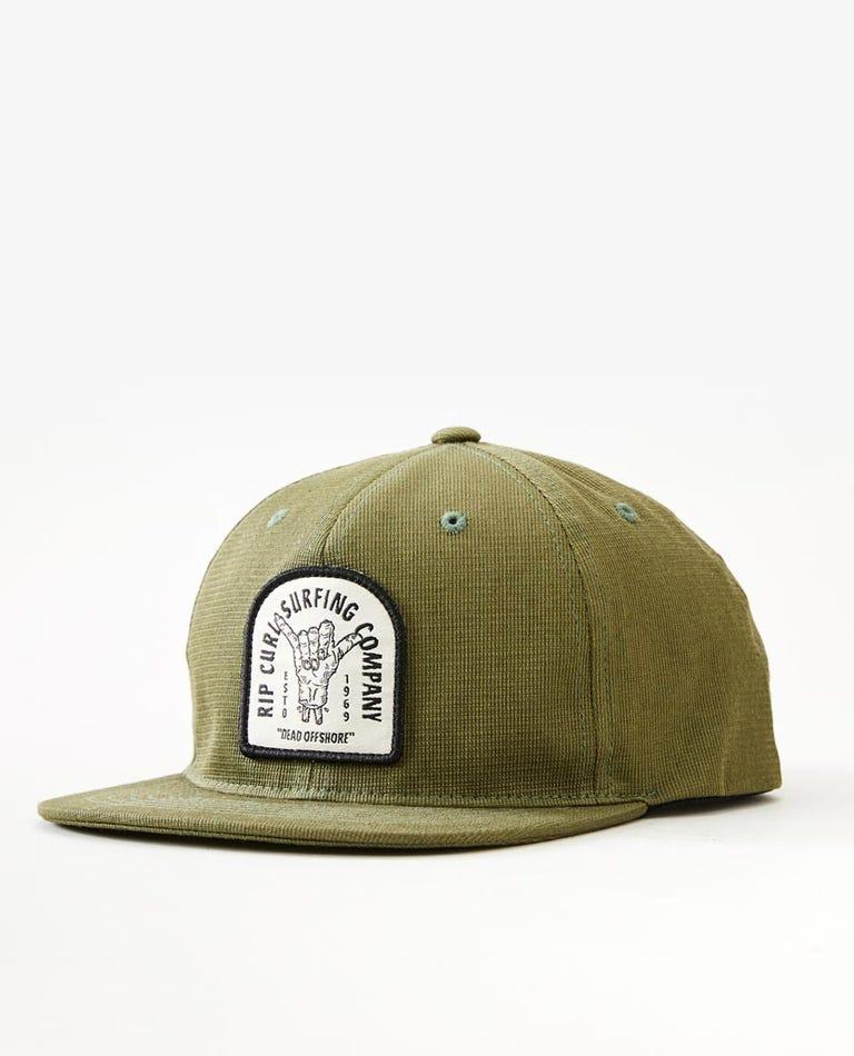 Zombie Shakah Snapback Cap Boys (8-16 years) in Dark Olive
