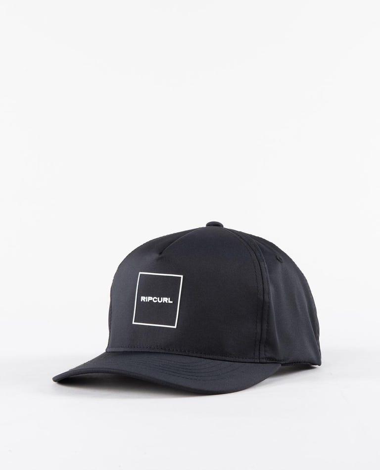 10M Flexfit Snapback Cap Boys (8 - 16 years) in Black